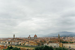 Florence, Italy, view of the city. Maria del Cathedral Royalty Free Stock Image