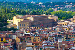 Florence.Italy. Florence - view of the city.Palazzo Pitti Stock Image