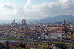 Florence,Italy. View of Florence,Italy, from Piazzale Michelangelo Stock Images