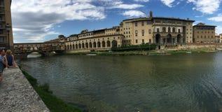 Florence Italy-waterkant stock fotografie
