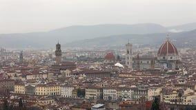 Florence Italy Winter arkivfilmer