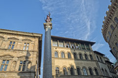 Florence justice statue Stock Image