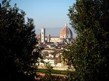 Florence katedralny Obraz Royalty Free