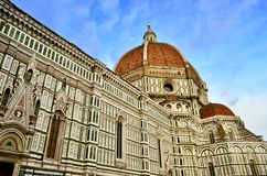 Florence katedralny florence Włochy Obrazy Stock