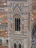 florence katedralny steeple Fotografia Royalty Free