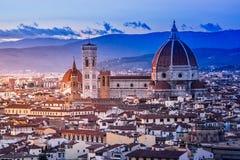 Florence katedralny Włoch Obrazy Stock