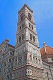 florence katedralny wierza Fotografia Royalty Free
