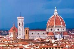 Florence, Kathedraal, Italië stock afbeelding