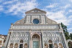 florence kościelne nowele Italy Maria Santa Fotografia Stock