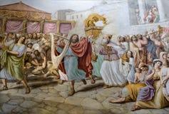 Florence - koning David door de dans royalty-vrije stock afbeelding