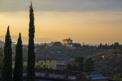 Florence landscape Royalty Free Stock Photography