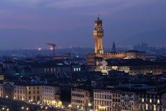Florence landskap Arkivfoto