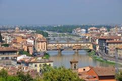 Florence landskap royaltyfri foto
