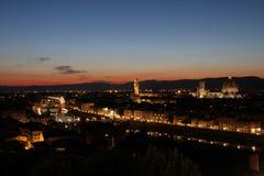 florence linia horyzontu Zdjęcia Royalty Free
