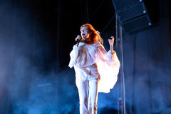 Florence and the Machine (pop band) in concert at FIB Festival stock photography