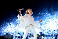 Florence and the Machine pop band in concert at FIB Festival stock images