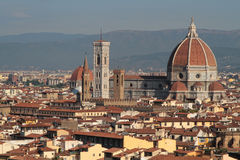 Florence main monuments over the city Royalty Free Stock Photography