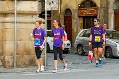 Florence. Marathon. Stock Image