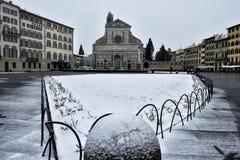 Winter snowfall in Florence IX