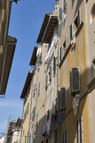 Florence narrow street Royalty Free Stock Photography