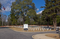 Florence National Cemetery Stock Photo