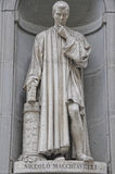 Florence Nicolo Macchiavelli Statue Royalty Free Stock Images