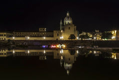 Florence at night. Stock Photography