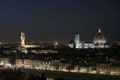 Florence at night Stock Image