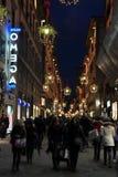 Florence Night street Stock Photos