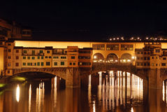 Florence by night - Tuscany - Italy Stock Image