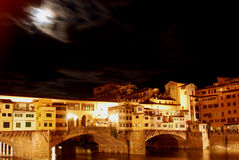 Florence by night - Tuscany - Italy Stock Photo