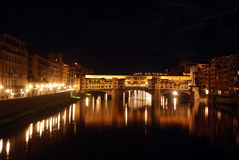 Florence by night - Tuscany - Italy Royalty Free Stock Photography