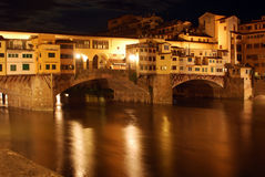Florence by night - Tuscany - Italy Royalty Free Stock Image