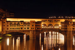 Florence by night - Tuscany - Italy Royalty Free Stock Photo