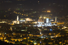 Florence night view Royalty Free Stock Photography