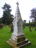 Florence Nightingale`s grave in churchyard Stock Photo
