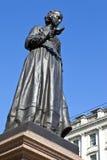 Florence Nightingale Statue em Londres fotos de stock
