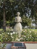 Florence Nightingale statue. At Lincoln Park, Los Angeles, California, United States Stock Photos