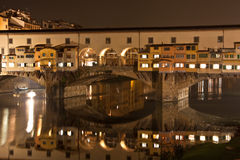 Florence Old Bridge Royalty Free Stock Photo