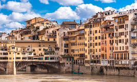 Florence, Old Bridge Stock Photography
