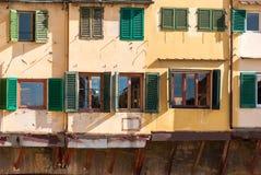 Florence, Old Bridge detail Stock Photo