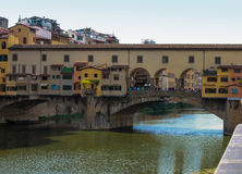 Florence Old Bridge Stock Image