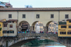 Florence Old Bridge Royalty Free Stock Photography