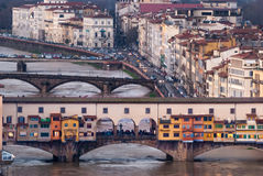 Florence, Old Bridge Stock Image