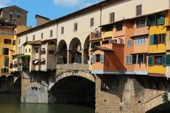 Florence old bridge Stock Photo