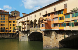 Florence old bridge Royalty Free Stock Photos