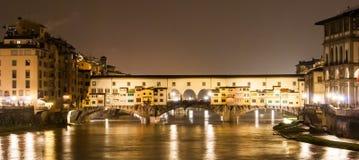 Florence, Old Bridge Royalty Free Stock Image