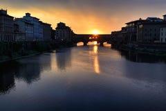 Florence Old Bridge VIII Foto de archivo libre de regalías