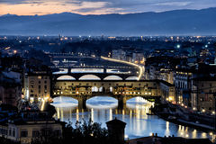 Florence Old Bridge XI Images stock