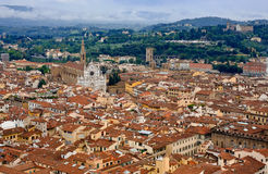 Florence. Old Italian city of Florence. Photo edit 2014 Stock Photography